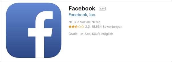 facebook-app-apple-store