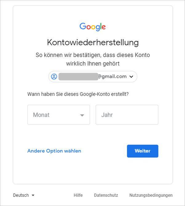kontowiederherstellung-gmail
