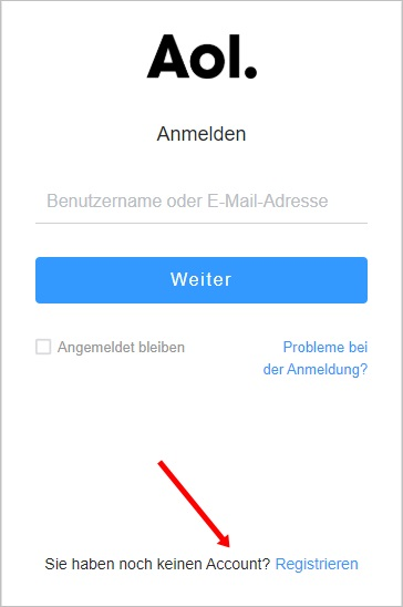 registrieren-aol-mail