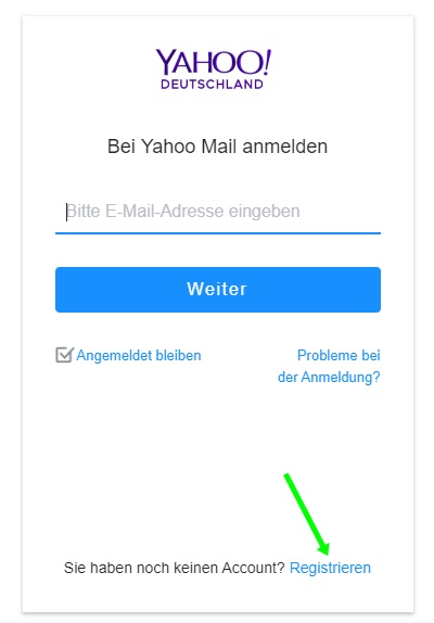 registrieren-yahoo-deutschland