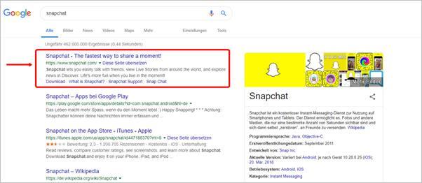 google-snapchat