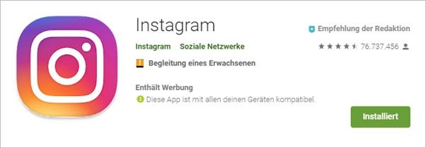 installiert-instagram-android