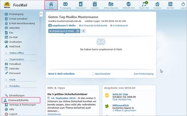 Paket De Account Löschen