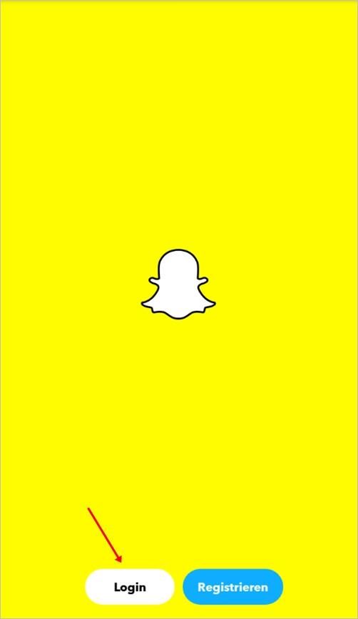 login-snapchat