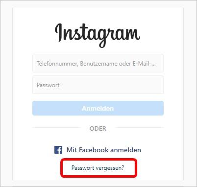passwort-vergessen-instagram