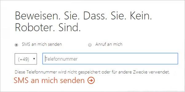 sms-an-mich-senden-office-365