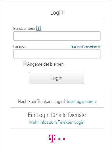 telekom email login. Black Bedroom Furniture Sets. Home Design Ideas