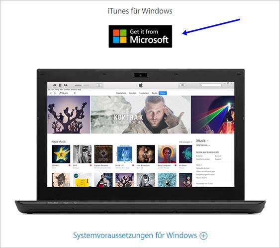 itunes-für-windows