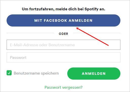mit-facebook-anmelden-spotify