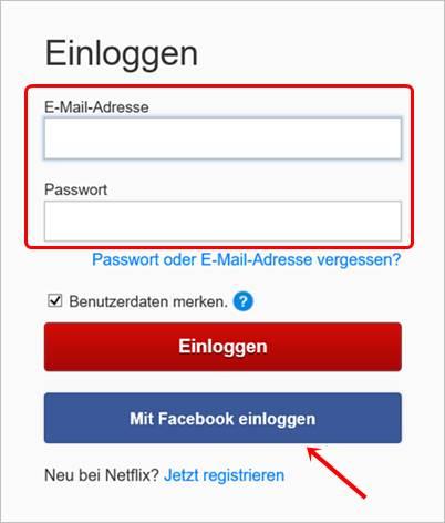 mit-facebook-einloggen-netflix