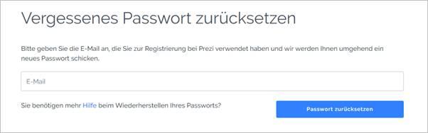 vergessenes-passwort-zurücksetzen-prezi