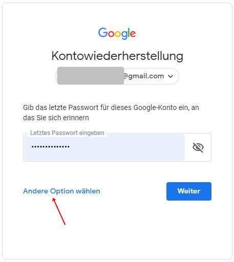 kontowiederherstellung-google